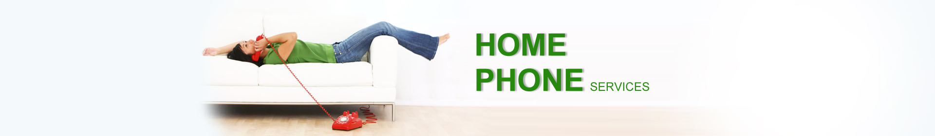 home phone page banner